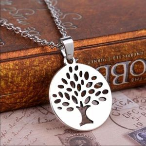 Jewelry - Peace Tree Silver Necklace