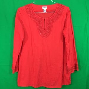 Chico's Tops - Chico's Beaded Blouse