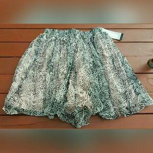 Stella & Jamie Dresses & Skirts - Stella & Jamie SILK CHIFFON Crinkled Gauzy SKORT