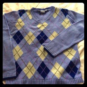 Roxy Sweaters - Roxy argyle sweater size m