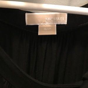 Michael Kors Tops - Michael Kors black sleeveless tank blouse bow sz S