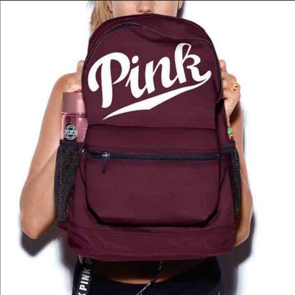PINK Victoria's Secret - Sold-Black Orchid VS Pink Campus BackPack ...