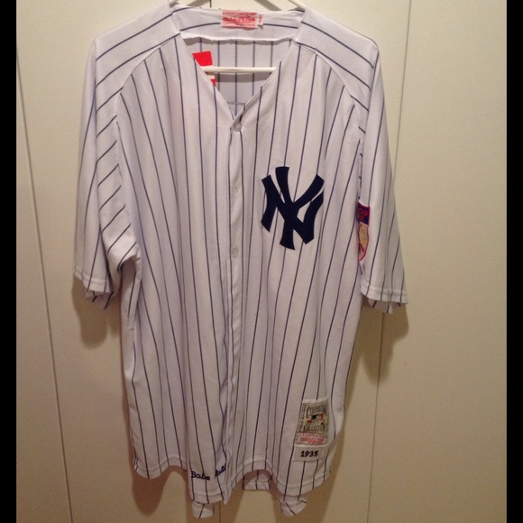 brand new 601ad 76ad8 New York Yankees Babe Ruth men's jersey NWT