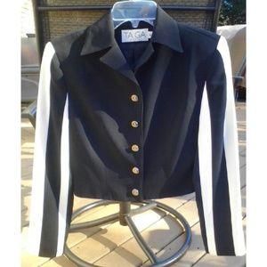 TAIGA Paris Jackets & Blazers - TAIGA PARIS  Black & White Jacket Orig $149 S