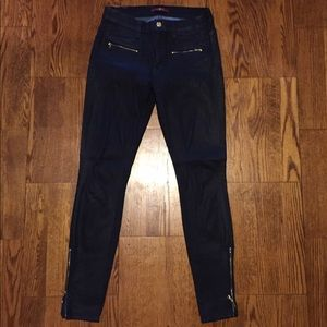 7 For All Mankind Coated Skinny Jean