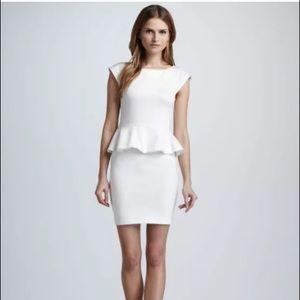 Alice + Olivia Employed Peplum Dress Size 0