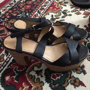Nine West platform shoes size 7.5