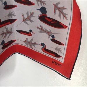 Vintage Vera Neumann Duck Scarf