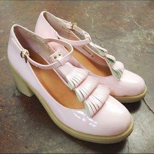 HALF OFF SALE | Pink Platform Heel