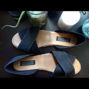 Deena & Ozzy Shoes - Black flat shoes-Deena and Ozzy