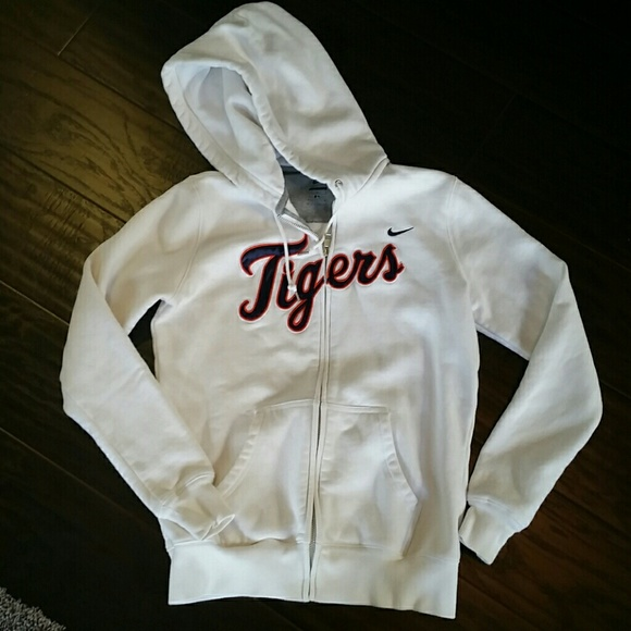 new product bdf81 a53f4 Nike Detroit Tigers zip up hoodie
