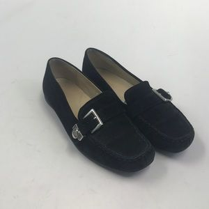 Ugg Black Suede Driving Shoes Sz 7.5