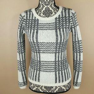 GAP Sweaters - GAP Black &White Wool Warm Sweater