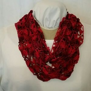 Accessories - Hand crocheted infinity scarf