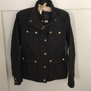 J. Crew Jackets & Blazers - XS J. Crew Olive Cotton Field Jacket