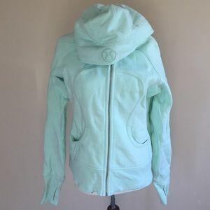 lululemon athletica Tops - LIKE NEW Lululemon Scuba hoodie sz. 10