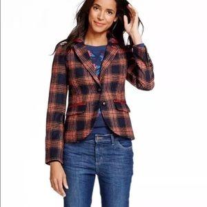 Boden Jackets & Blazers - Boden  plaid wool jacket