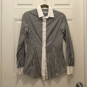 Robert Friedman Tops - SALE! Robert Friedman Striped Button Down Shirt
