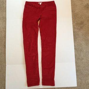 Banana Republic Pants - Like new Banana Republic red cords pants 29 long