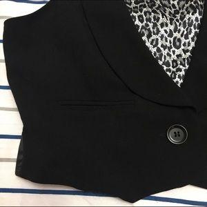 Star City Jackets & Coats - Women's black dress vest