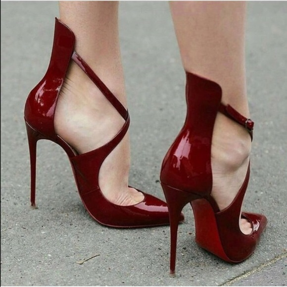 346bc80df092 Christian Louboutin Shoes - Worn once! Marlenarock 120 patent. Worn once!