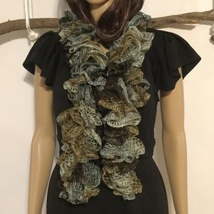 Accessories - Crochet Lace Scarf