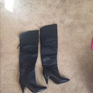 Guess Shoes - Guess over the knee boots.