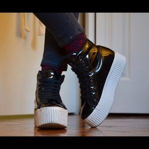 Jeffrey Campbell Shoes - JC Play by Jeffrey Campbell Hiya Platform - Black