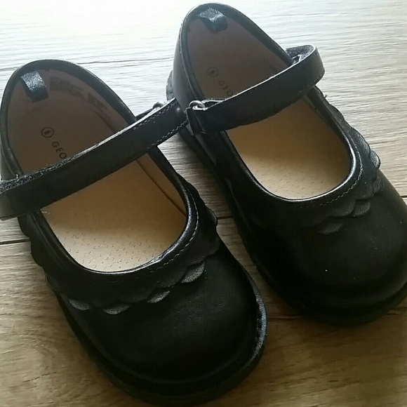George Shoes | Black Mary Janes Toddler