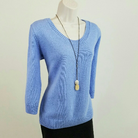 64% off GAP Sweaters - GAP periwinkle blue sweater from Holly's ...