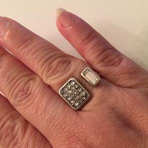 Silpada Jewelry - Silpada Crystal Cuff ring