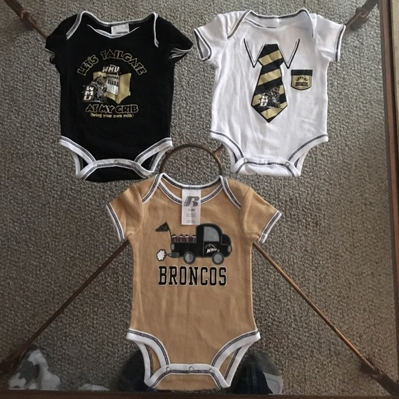 One Pieces Western Michigan University 03 Month Baby Onesies