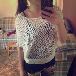 Kirra Tops - Slouchy Crochet Top