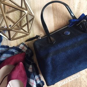 Coach Handbags - Coach signature stripe wool bag