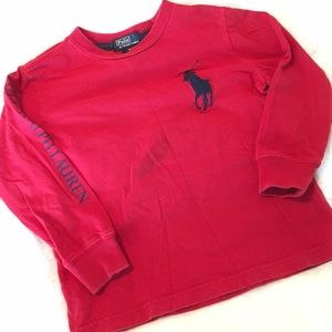 Polo by Ralph Lauren Other - 🆑 Boy's Polo by RL Red L/S T-Shirt