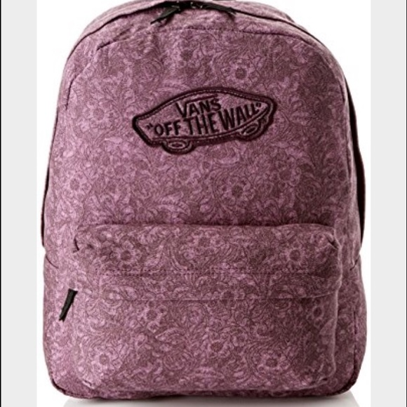 Vans Realm Purple Backpack