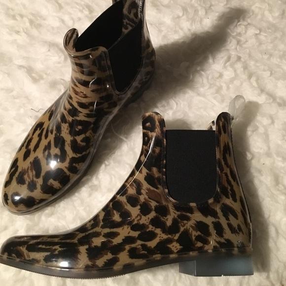 J. Crew Shoes   Jcrew Leopard Rain