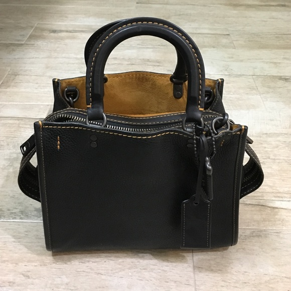 a86731fe2ba9 Coach Handbags - Coach Rogue bag in black