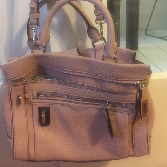 55% off Rebecca Minkoff Handbags - Dusty pink handbag from Sim's ...