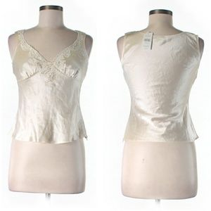Gorgeous Banana Republic Champagne Silk Cami