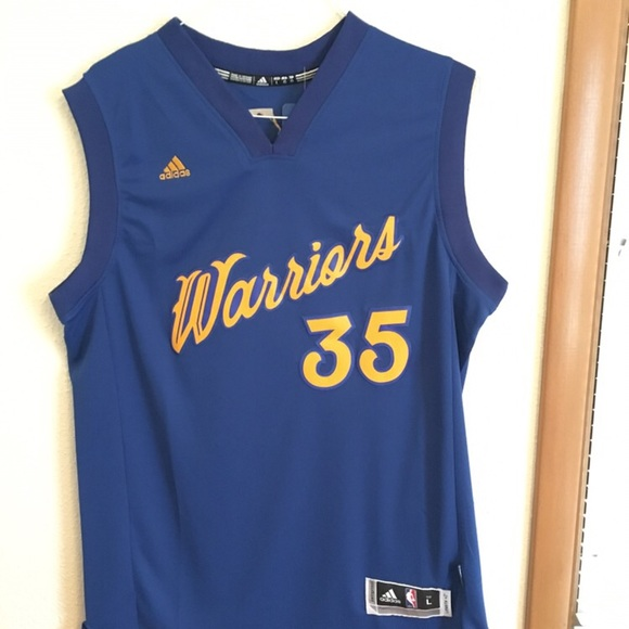 new product 0a68b df98e Adidas Kevin Durant 2016 Christmas Jersey Warriors NWT