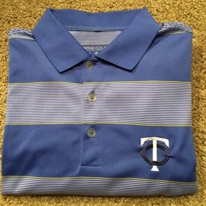 Nike Other - Nike Golf polo shirt with Minnesota Twins logo!!