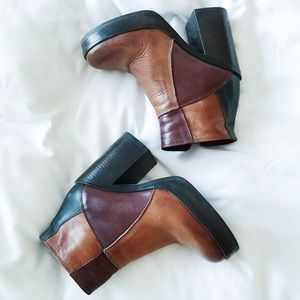 Shoes - Steve Madden Gara Platform Booties