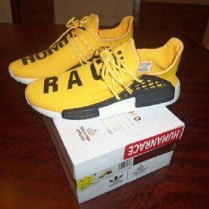 12b02e865566 adidas Shoes - Pharrell human race nmd yellow mens sz 10 ua