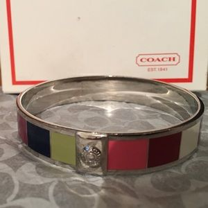 Coach Bangel Bracelet, Multi Color