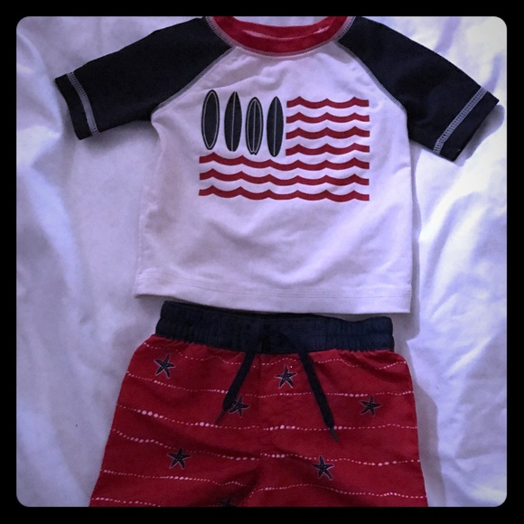 180478a7cc Old Navy Swim | Baby Boy Trunks And Top | Poshmark