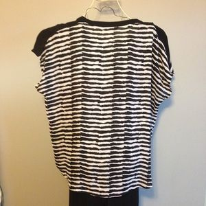 Dress Barn Tops - Black and white top