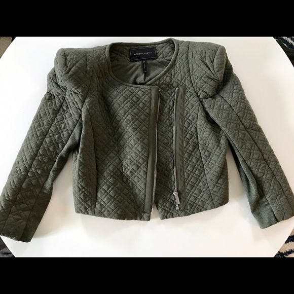 BCBGMaxAzria - BCBGMAXAZRIA QUILTED CROPPED JACKET from Alesia's ... : quilted cropped jacket - Adamdwight.com