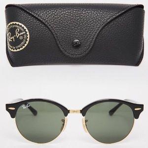 used ray ban clubmaster sunglasses  ray ban accessories ray ban round clubmasters? reduced!