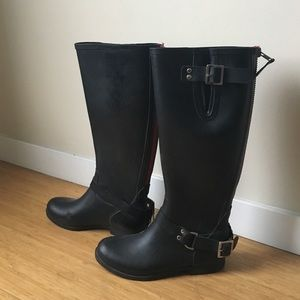 Women's Steve Madden Rain Boots Zipper on Poshmark